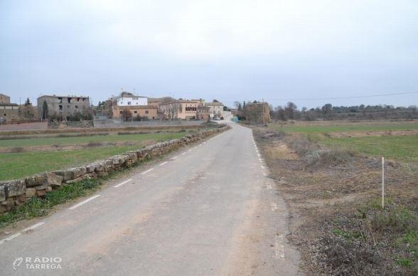 El Consell Comarcal de l'Urgell redacta el projecte de millora de l'accés a Castellnou d'Ossó