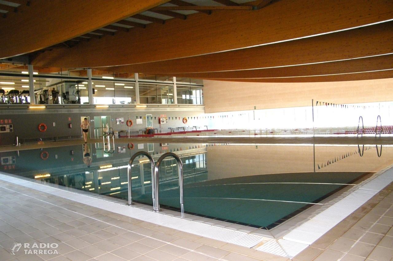 L'Ajuntament de Tàrrega obre un expedient per assumir el manteniment de la piscina coberta mentre durin les obres