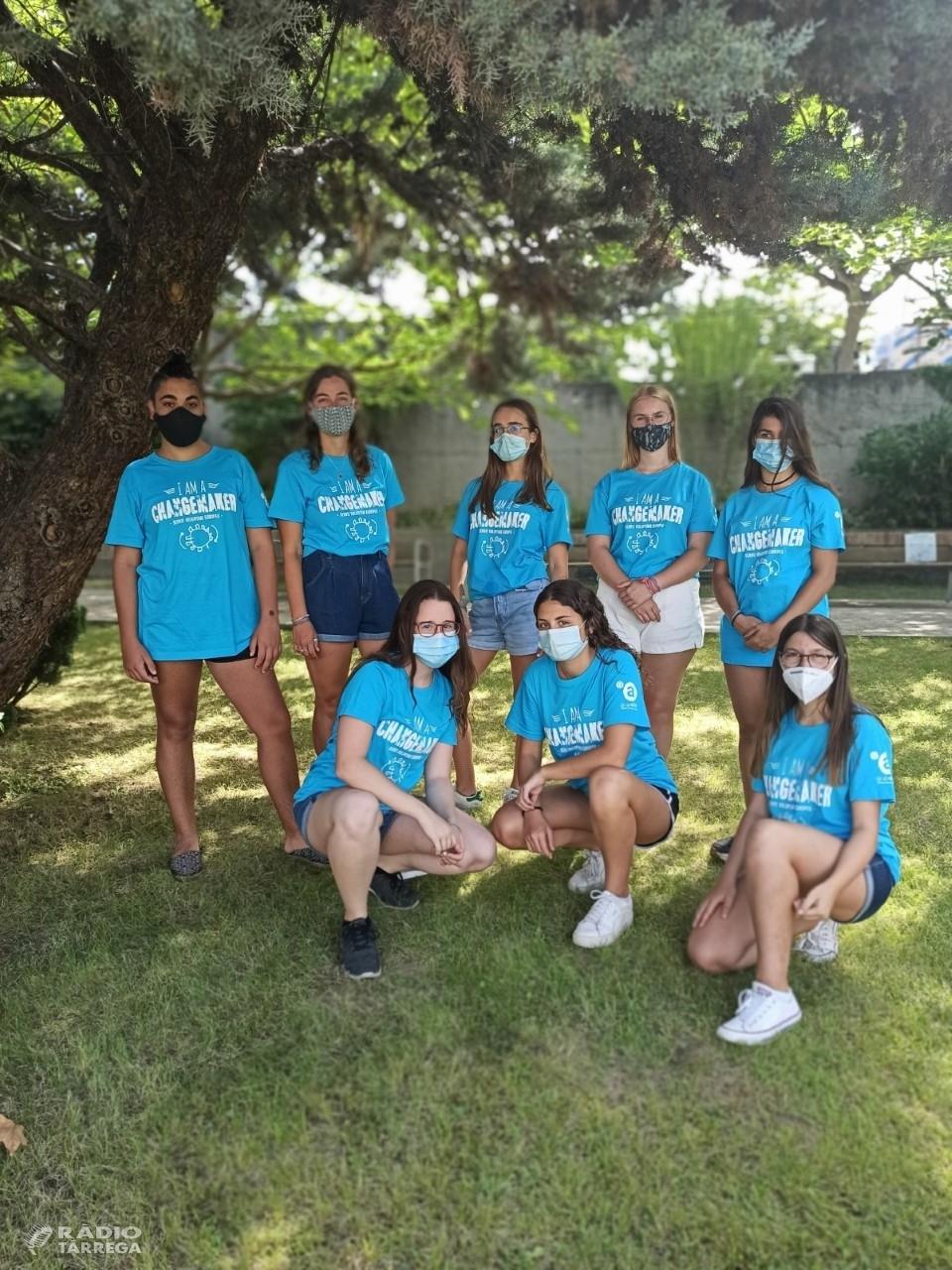 El Programa de Voluntariat per a Joves del Grup Alba finalitza amb èxit de participació malgrat la situació de la COVID19