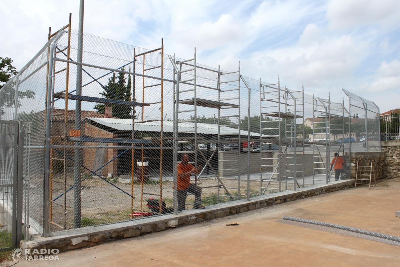 L'Ajuntament de Tàrrega ultima la construcció del centre d'acollida de gats
