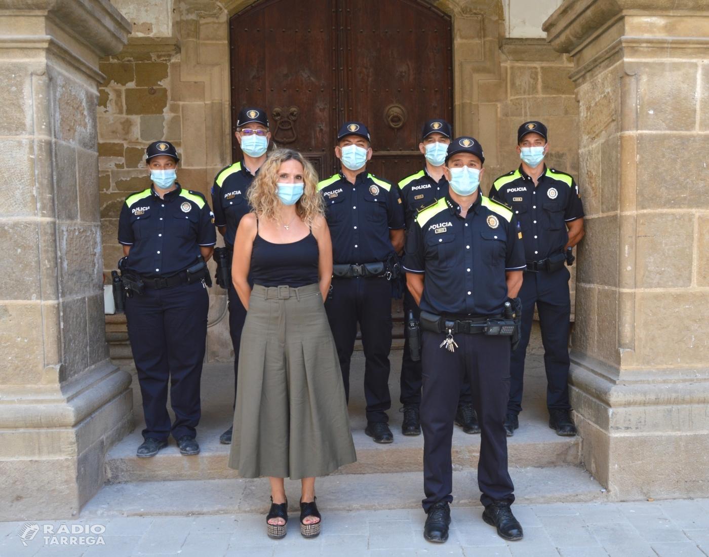 Dos nous agents a la Policia Local d'Agramunt