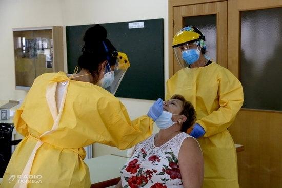 La demarcació de Lleida supera els 10.000 casos de covid-19 acumulats des de l'inici de la pandèmia