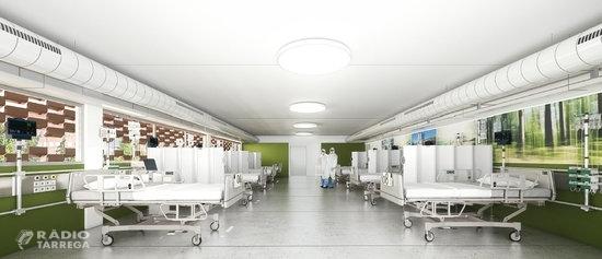 L'Arnau de Vilanova comptarà amb un nou edifici modular de quatre plantes per combatre la covid-19