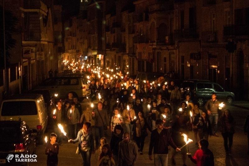 La Marxa de Torxes per la República Catalana de Tàrrega esdevindrà enguany una encesa simbòlica