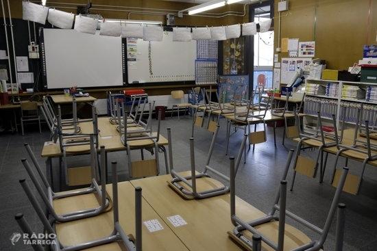 Les escoles de Tàrrega es preparen per a l'inici de curs més complicat de les últimes dècades
