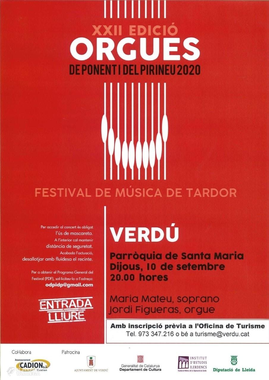 Verdú celebra del 8 a l'11 de setembre la Festa Major en honor a Sant Pere Claver
