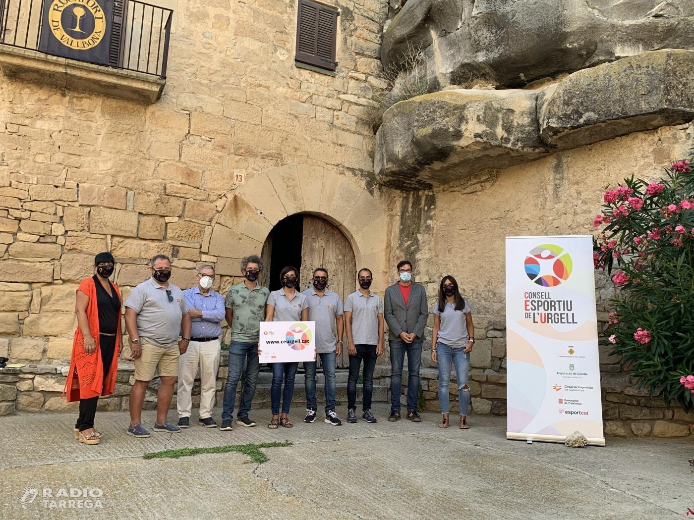 El Consell Comarcal de l'Urgell presenta la nova imatge i web del Consell Esportiu