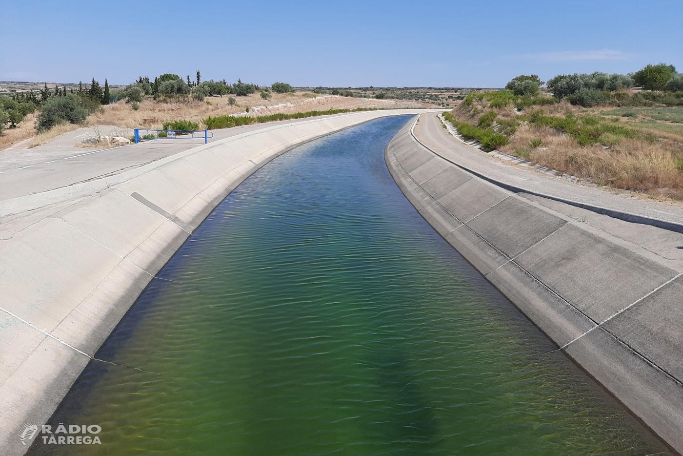 L'Ajuntament de Tàrrega aprova un conveni amb la Diputació de Lleida per impulsar el creixement econòmic a través del Canal Segarra – Garrigues
