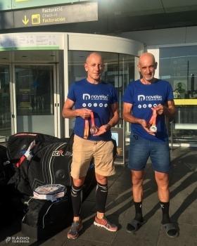 Dos targarins aconsegueixen medalla als Campionats d'Espanya de Ciclisme Junior i Masters