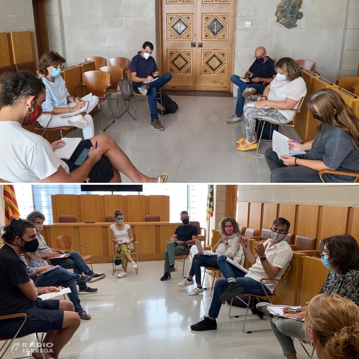 Coordinació amb les empreses de transport escolar i els directors i directores dels instituts de l'Urgell per preparar l'inici del curs escolar