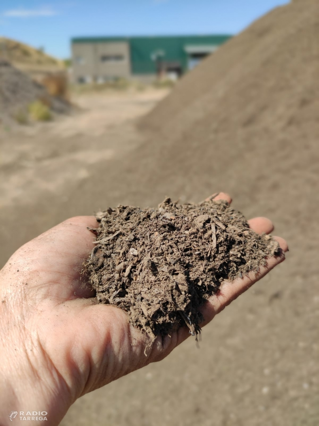 La planta de compostatge de l'Urgell va vendre més de 3000 tones de compost durant el 2019