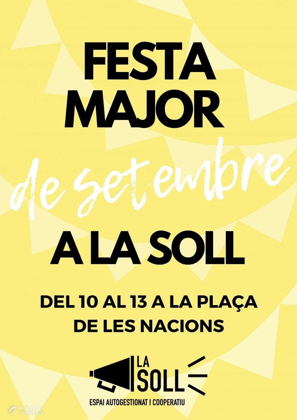 La Soll reivindica la Festa Major de setembre amb una programació amb set actuacions musicals, un show de màgia i un debat cultural