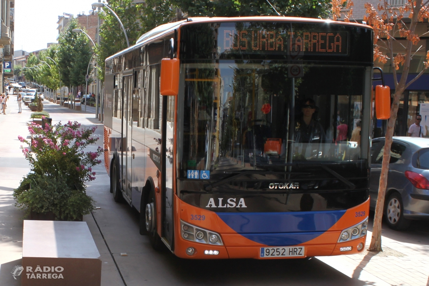 El bus urbà de Tàrrega serà gratuït del 16 al 22 de setembre en el marc de la Setmana Europea de la Mobilitat