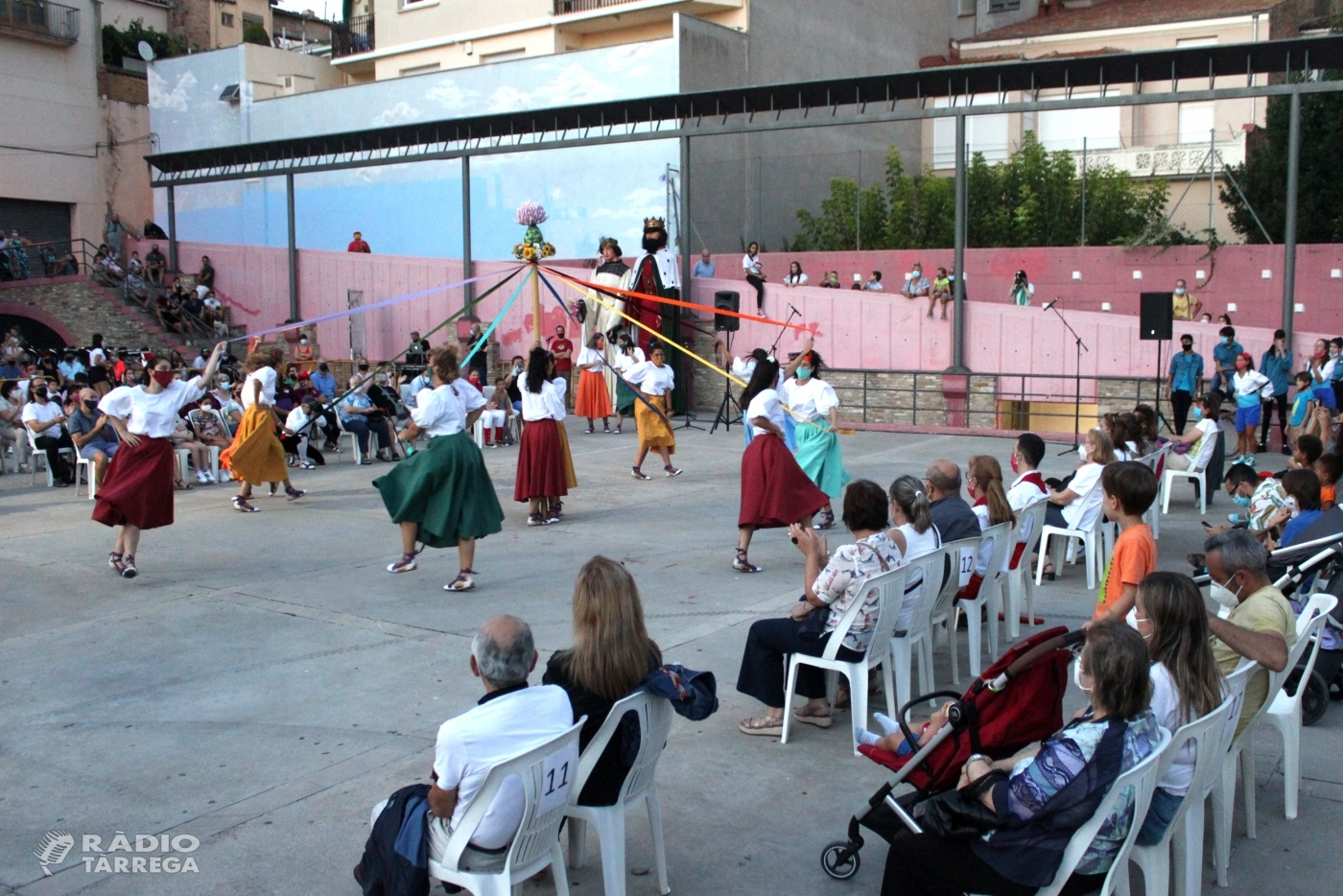Èxit de la mostra de cultura popular a les Festes de Setembre de Tàrrega