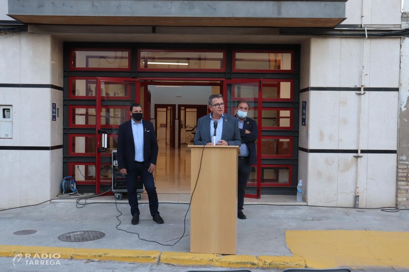 Talarn anuncia a Bellcaire d'Urgell que la Diputació aprovarà un pla de 15M€ perquè els ajuntaments puguin fer inversions en matèria de salut en els propers tres anys