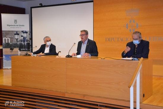 La Diputació de Lleida destinarà 34 MEUR als plans de suport als ajuntaments i en l'àmbit de la salut els pròxims anys