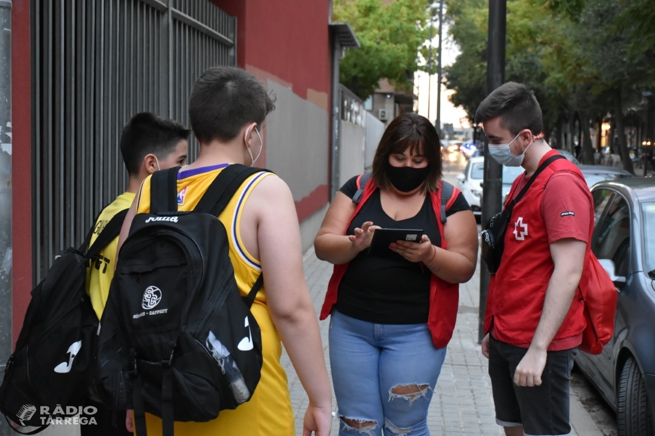 La Creu Roja sensibilitza més de 5.400 joves a Lleida per prevenir la COVID-19 en l'oci nocturn