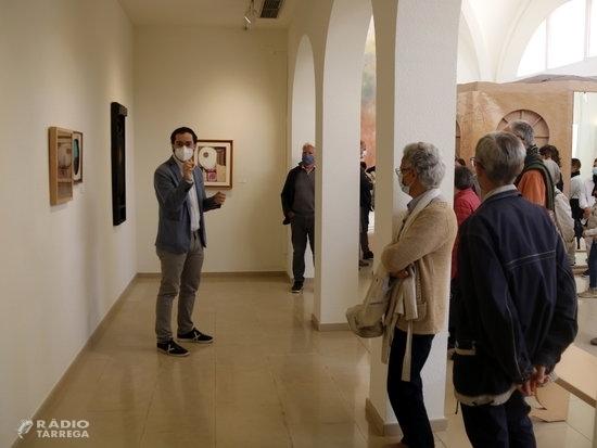 L'espai Guinovart d'Agramunt explora els 'llindars' físics i vitals de l'artista a través d'una trentena d'obres
