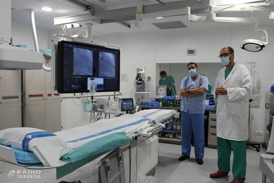 L'Hospital Universitari Arnau de Vilanova de Lleida estrena la nova sala d'hemodinàmica