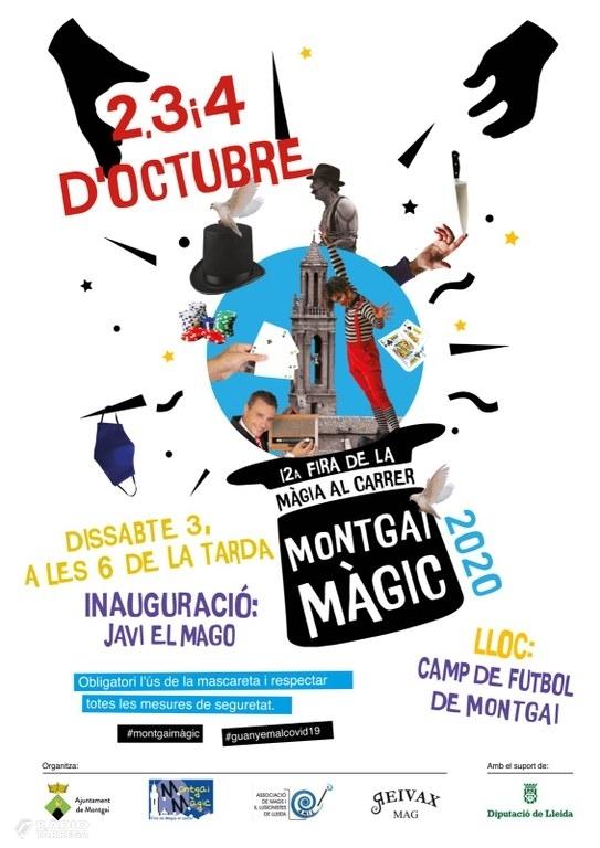 La 12a edició de la Fira de la Màgia al Carrer de Montgai se celebrarà els propers 2, 3 i 4 d'octubre