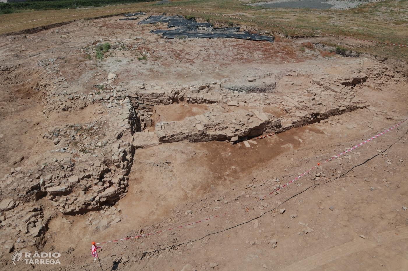 Es posen al descobert restes del sistema defensiu i d'accés de la ciutat ibèrica de Molí d'Espígol a Tornabous