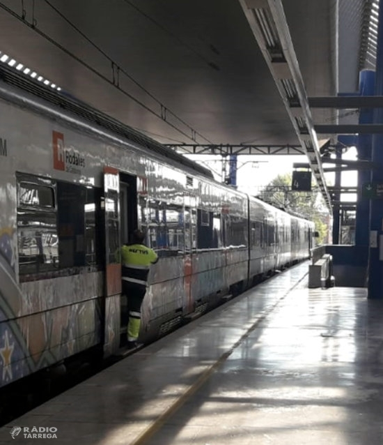 Renfe incorpora un nou equip d'assistència i manteniment de trens a la zona de Lleida