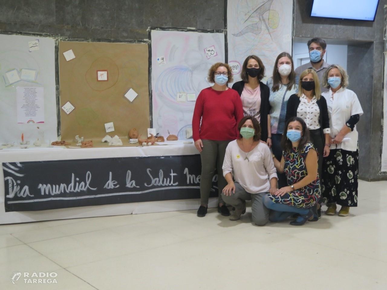 El confinament i les seves conseqüències, eix central de l'exposició 'Art-teràpia i pandèmia' inaugurada avui a l'Hospital Universitari de Santa Maria de Lleida