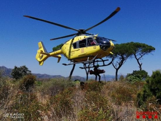 Els Bombers de la Generalitat treballen en dotze rescats aquest diumenge a excursionistes ferits lleus o desorientats