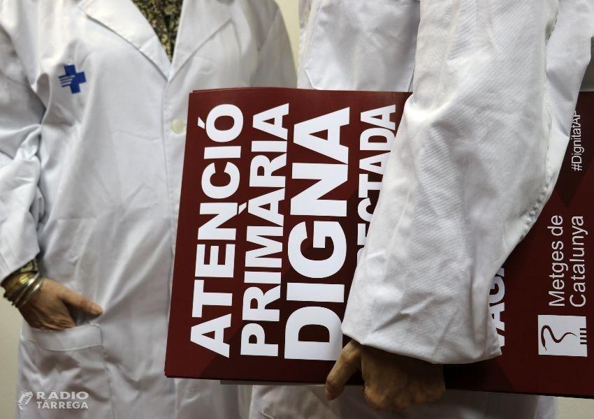 L'ICS situa el seguiment de la segona jornada de vaga de metges de la primària en el 15,6%