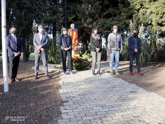 Ponsa i Jordà reivindiquen al Tarròs la figura del president Companys en el 80è aniversari del seu afusellament