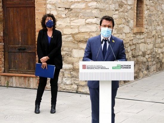 El Govern preveu començar les obres de modernització de 10.000 hectàrees del Canal d'Urgell l'any 2022