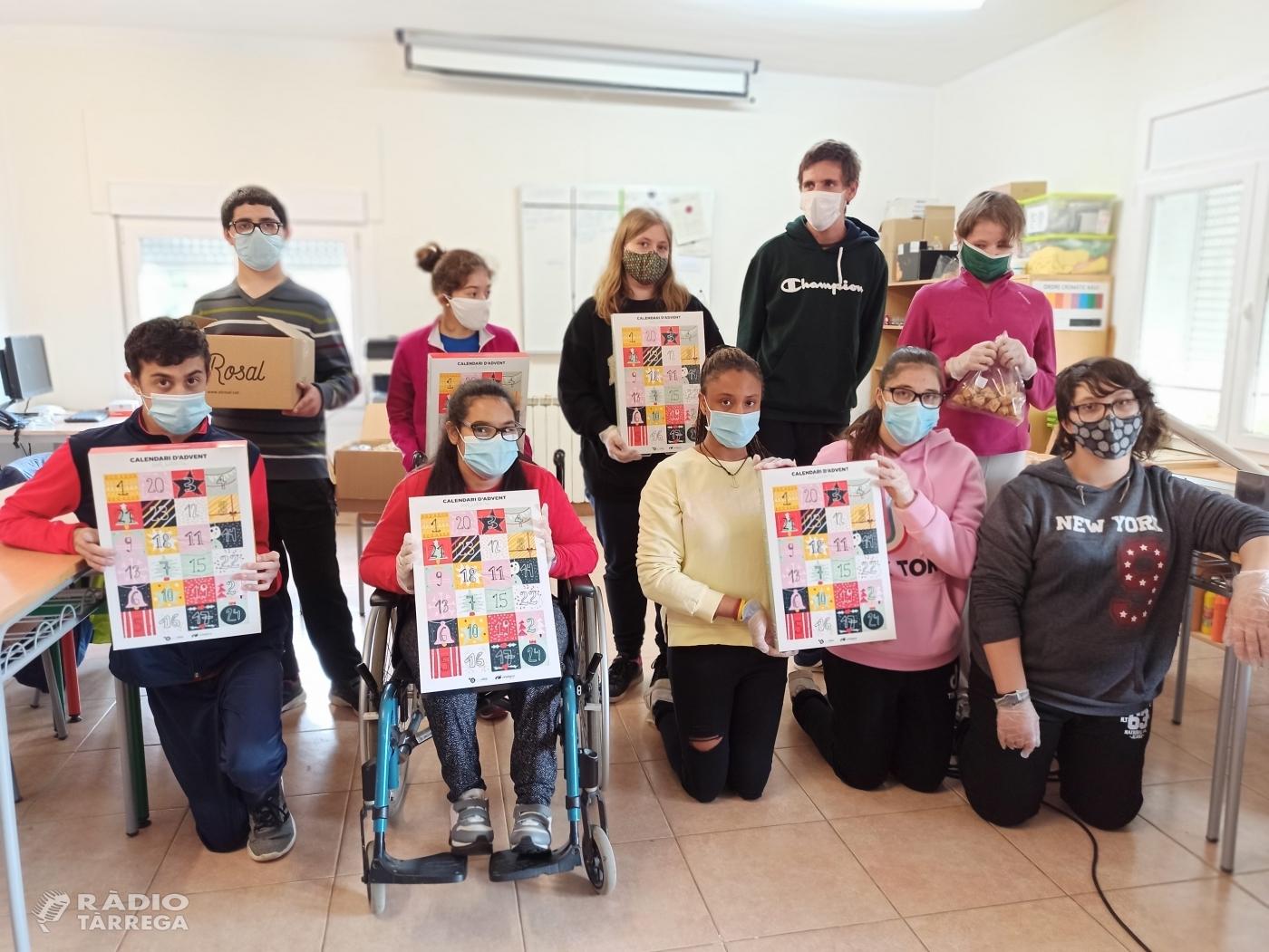 El Grup Alba de Tàrrega prepara el llançament d'un calendari d'advent solidari per aquest Nadal