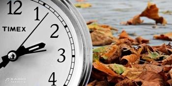 Aquesta matinada toca endarrerir els rellotges