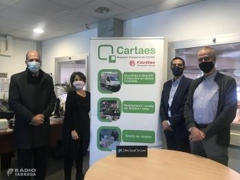 La Fundació 'la Caixa' i CaixaBank donen suport a Cartaes per trencar l'escletxa digital dels infants de famílies vulnerables
