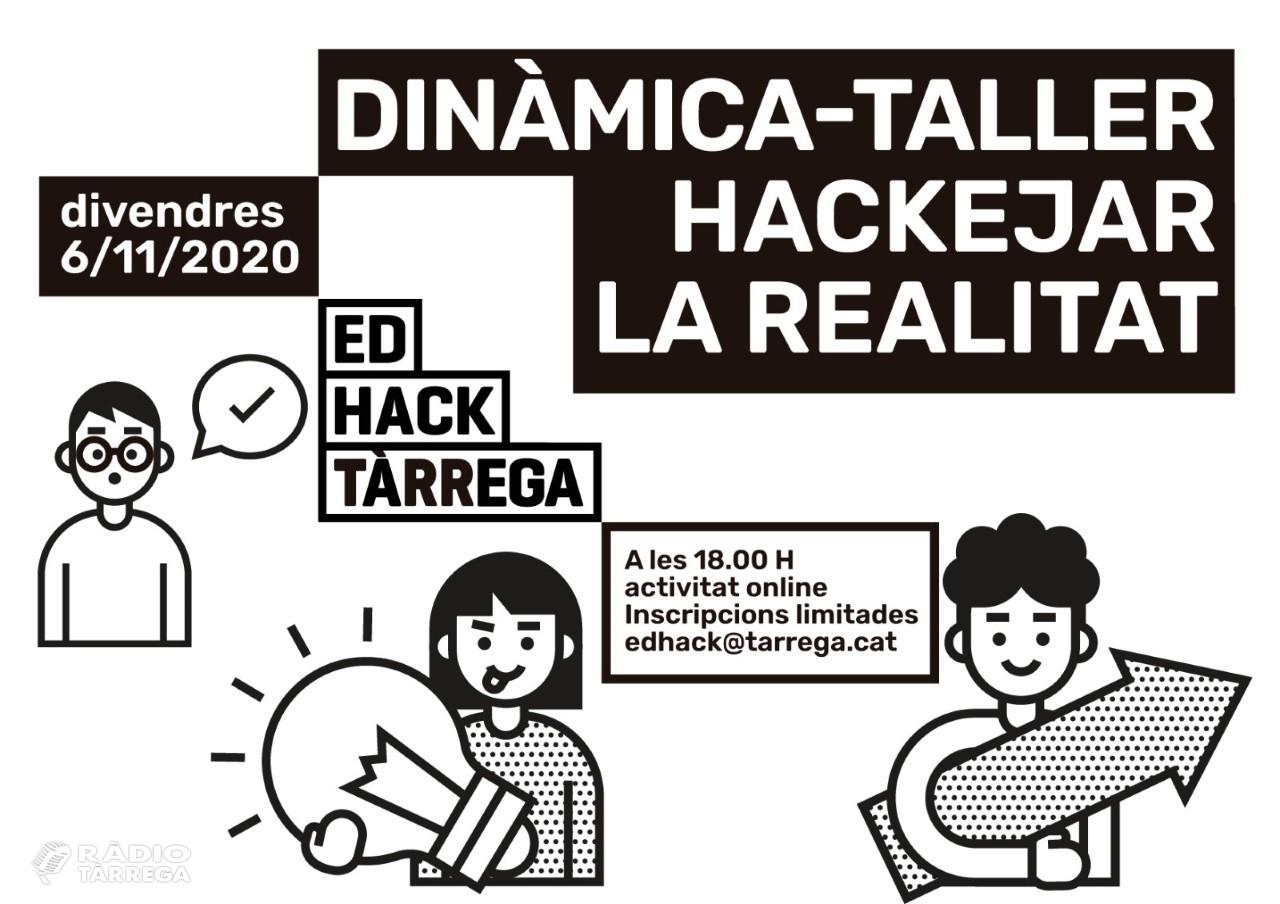 Tàrrega inicia demà divendres amb un taller virtual el seu nou projecte participatiu adreçat a la gent jove