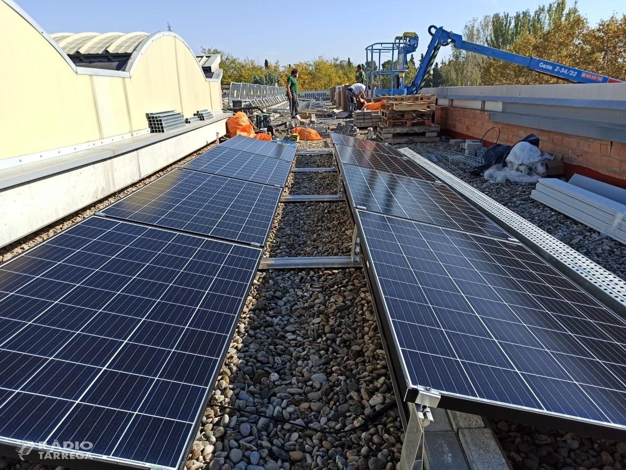 El Grup Alba instal·la 226 panells solars a la seu de Tàrrega