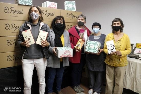L'obrador de galetes 'El Rosal' de Tàrrega celebra el centenari després de consolidar el projecte social amb l'Associació Alba