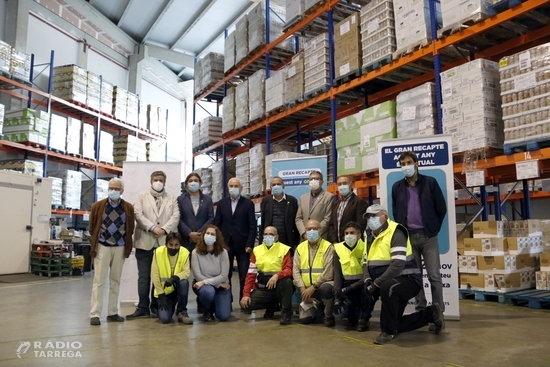 Les peticions d'ajuda al Banc dels Aliments de Lleida augmenten un 40% 'de manera sobtada' per la pandèmia