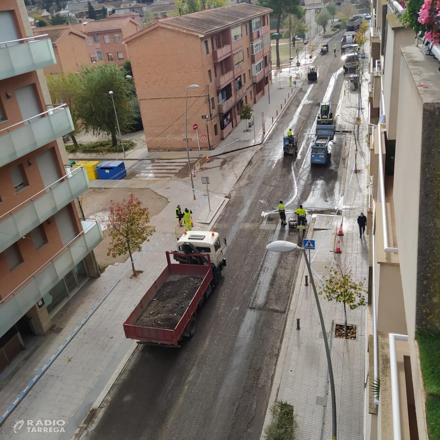 L'Ajuntament de Tàrrega demanarà a ADIF que repari el tram de C-14 de la seva competència