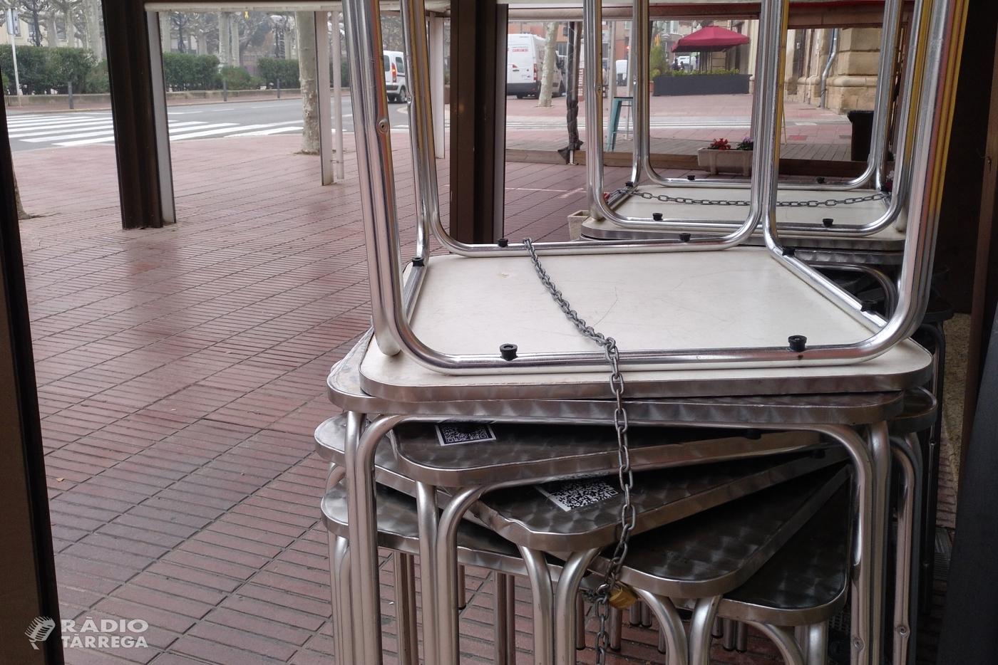 L'Ajuntament de Tàrrega autoritzarà de nou a partir de dilluns l'ampliació de terrasses de bars i restaurants per afavorir la seva activitat