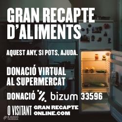 La recaptació del Gran Recapte d'Aliments recapta 3 milions d'euros
