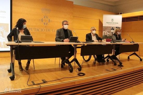El govern de la Diputació de Lleida planteja un pressupost de 137,3 MEUR per al 2021