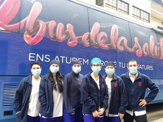 El Bus de la Salut de Lleida valora les seqüeles de la covid-19 en persones amb factors de risc cardiovascular i renal
