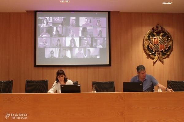 ÀUDIO: Crònica del ple de l'Ajuntament de Tàrrega del 26 de Novembre de 2020