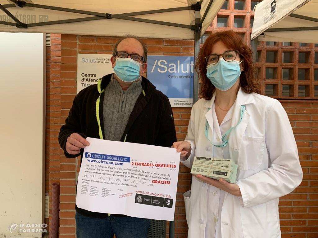 Campanya d'agraïment de Circuit Urgellenc al sector sanitari