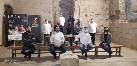 Vuit sopars signats per xefs de Lleida reivindiquen avançar els horaris a dos quarts de vuit en suport al sector