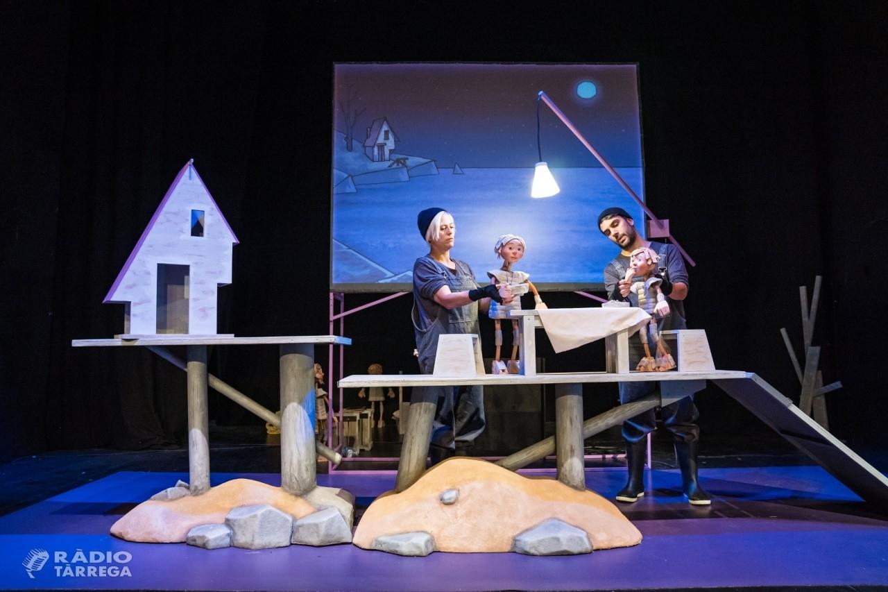 El Centre de Titelles de Lleida porta diumenge vinent al Teatre Ateneu de Tàrrega el seu espectacle familiar inspirat en Moby Dick