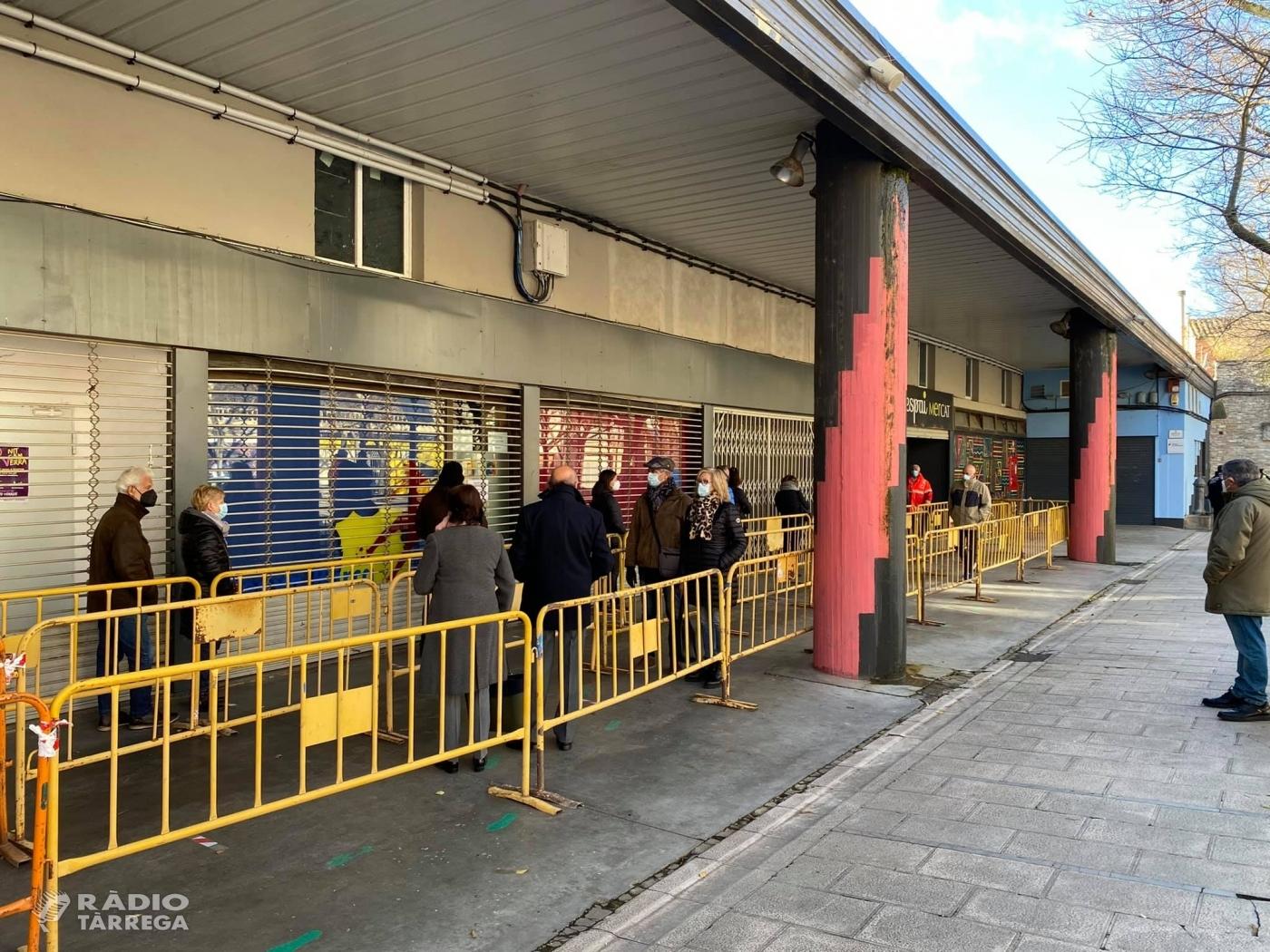 Un positiu en la primera jornada de cribratges poblacionals a Tàrrega