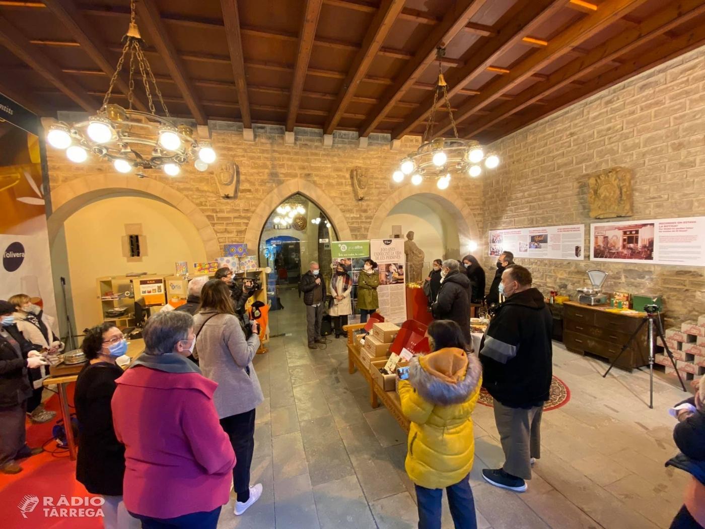 L'obrador de galetes El Rosal inaugura una exposició sobre els 100 anys de la marca
