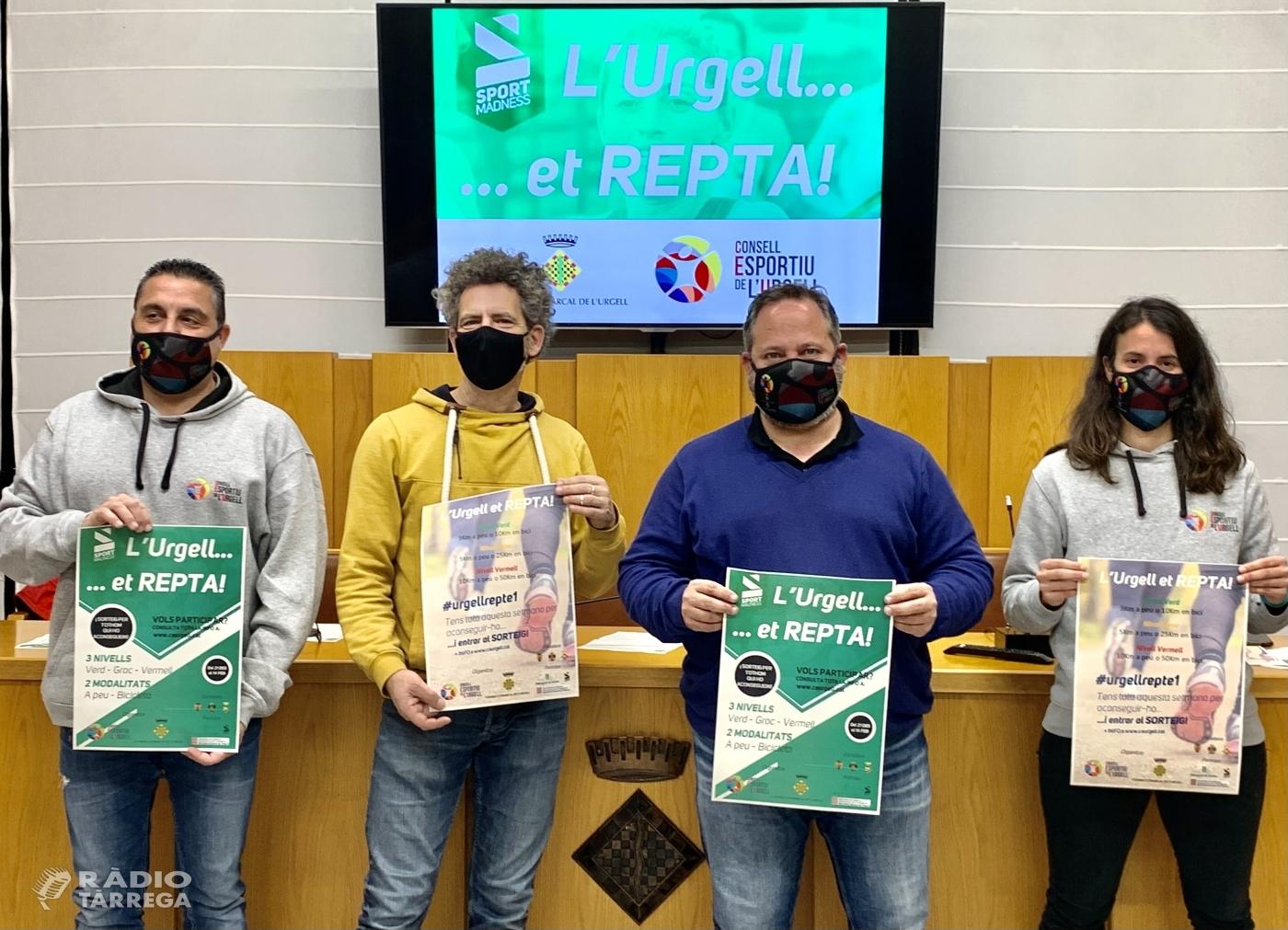 El Consell Comarcal i el Consell Esportiu de la comarca de l'Urgell uneixen esforços per dinamitzar l'activitat física durant les vacances de Nadal